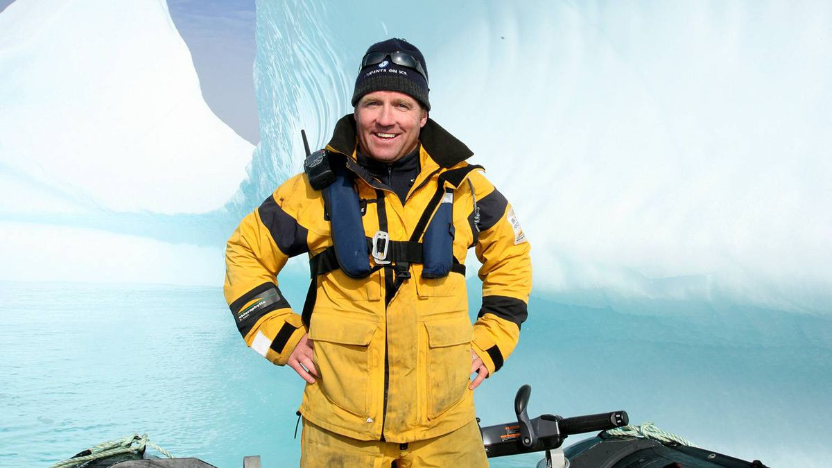 Geoff Green, founder of Students on Ice Expeditions.