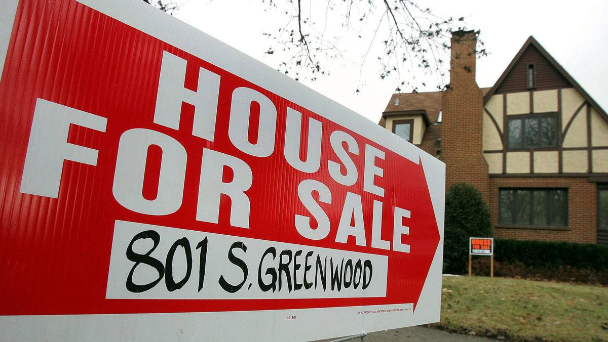 Housing prices in Canada are expected to show a dip in July. Tim Boyle/Getty Images