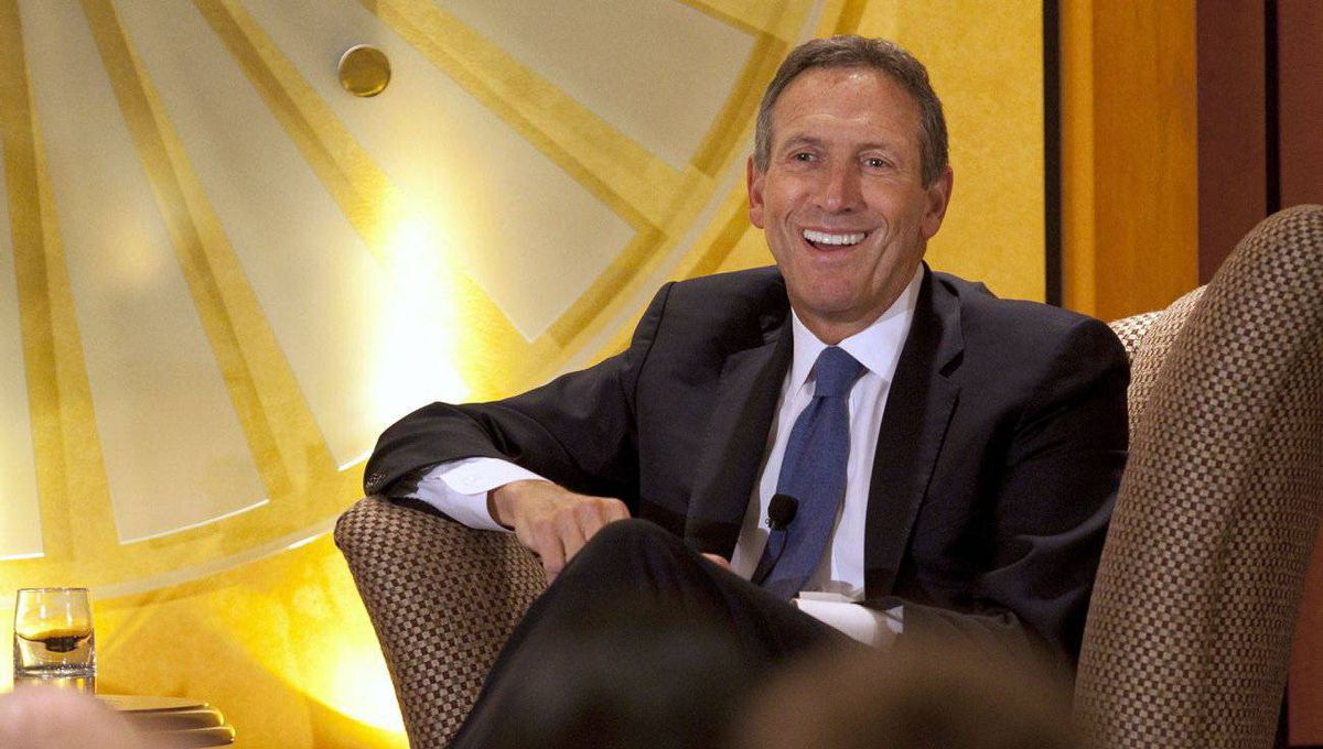 Starbucks CEO Howard Schultz has big plans for the coffee chain.