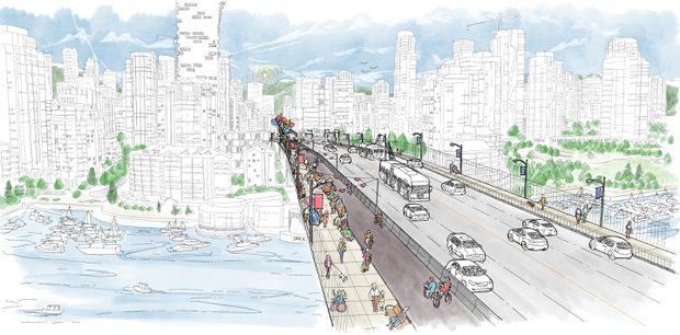 Vancouver public gives the Granville Bridge's first redesign a resounding 'no'