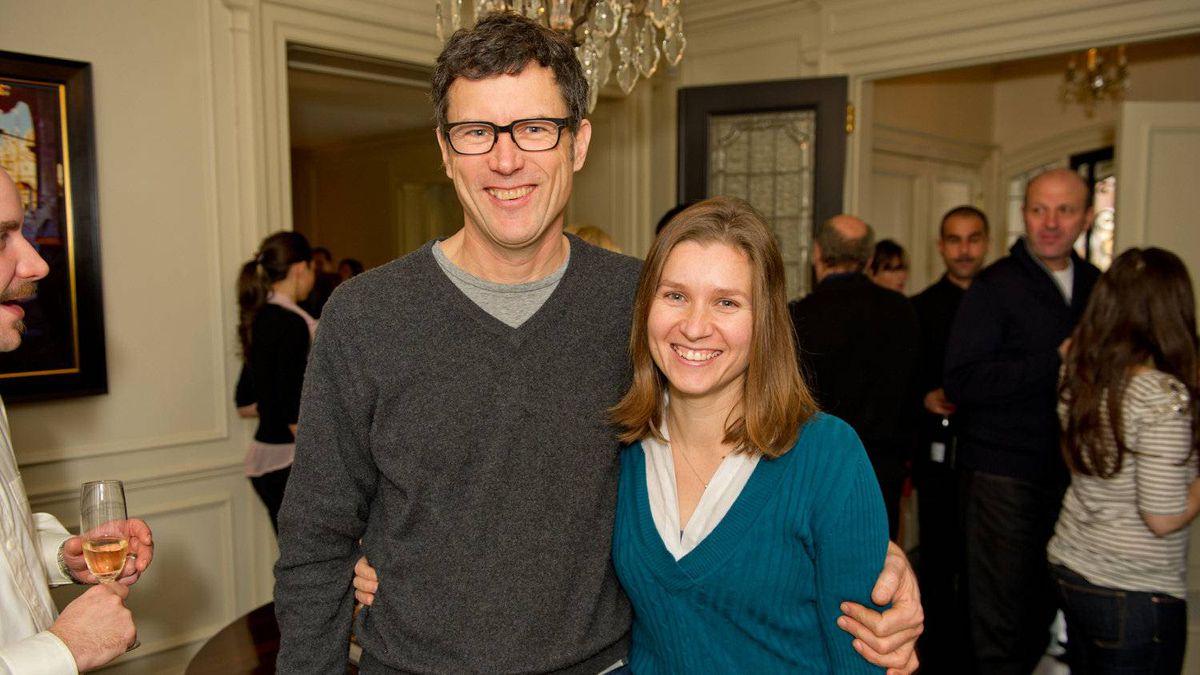 Chef Jamie Kennedy and Siobhan Boyd