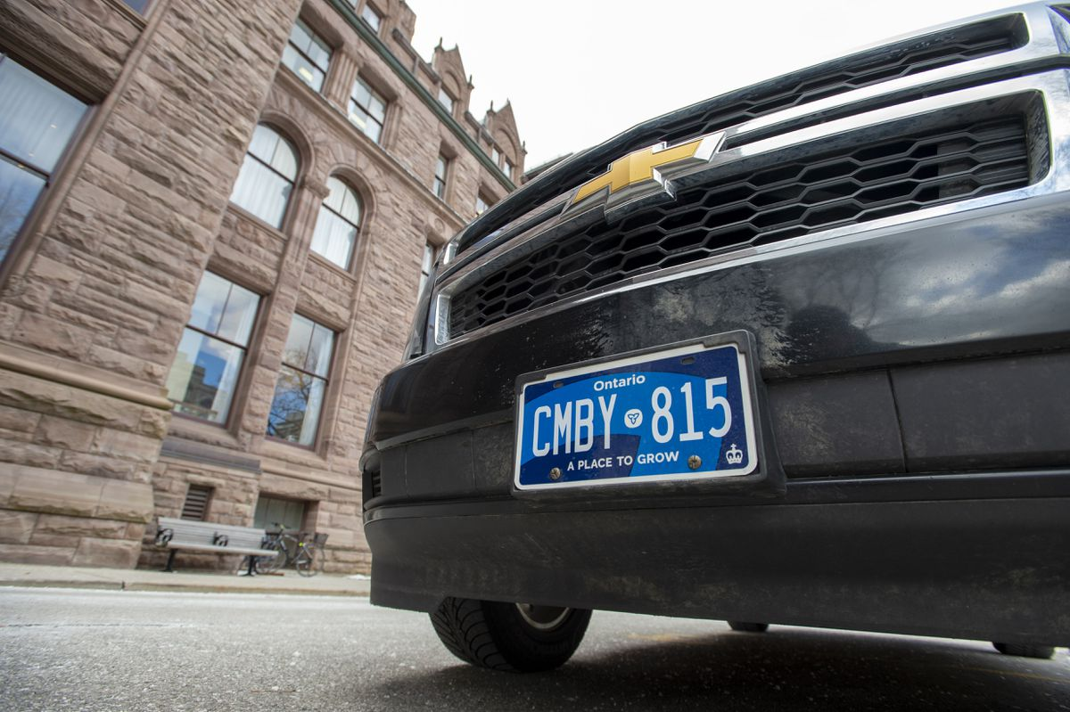 Doug Ford's crew can't seem to get anything right, even the release of new licence plates