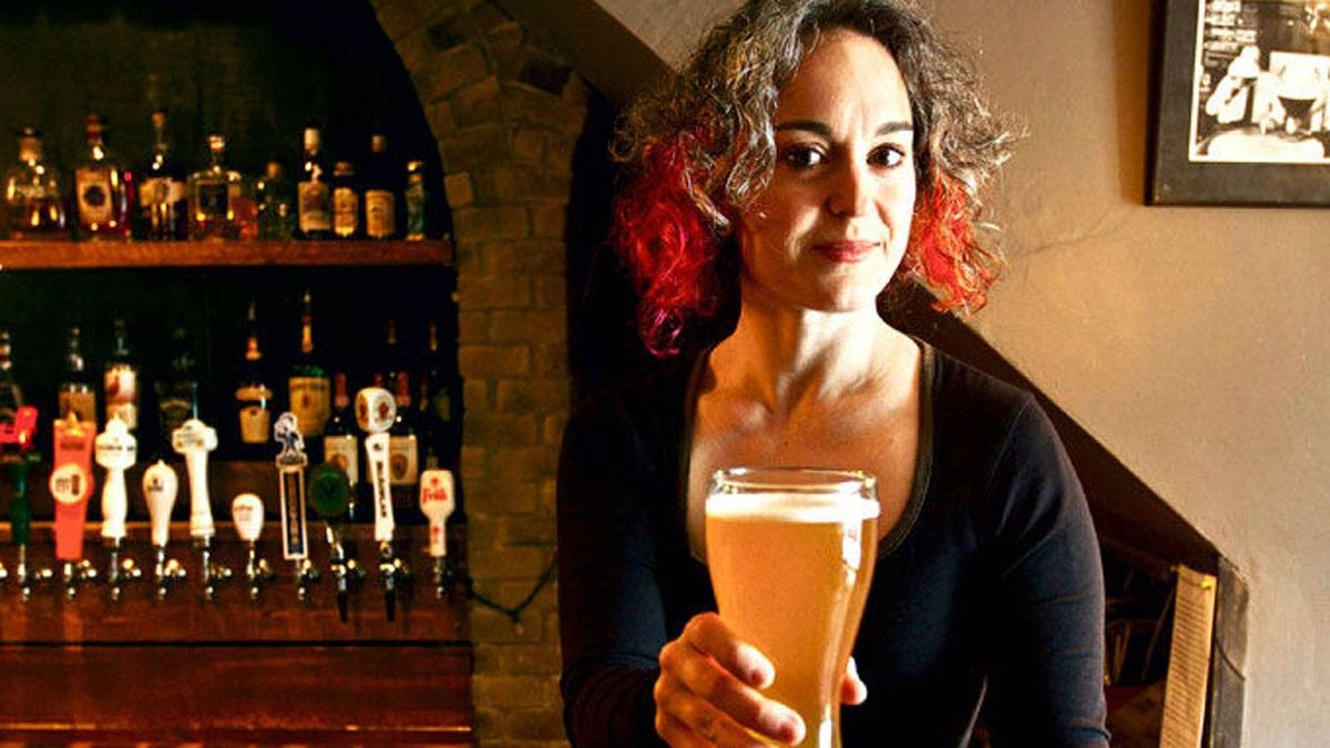 Mirella Amato, Canada's only female beer sommelier