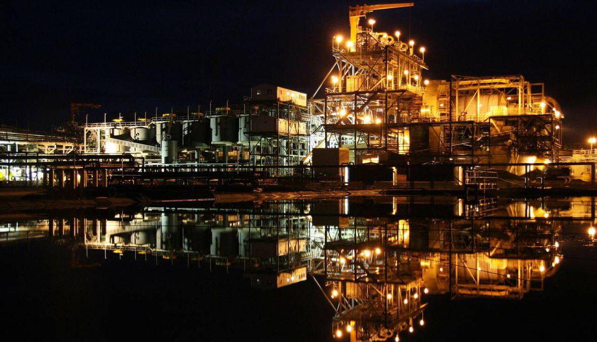 Equinox Minerals Ltd.'s copper plant in Lumwana, Zambia.