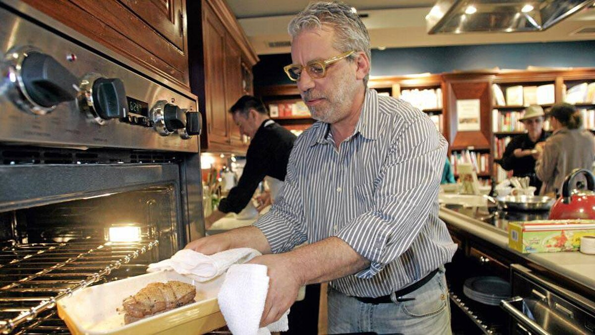 Chef David Tanis Helps You Find Your Entertaining Sweet