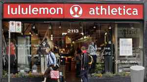 File photo of a Lululemon store in Vancouver.