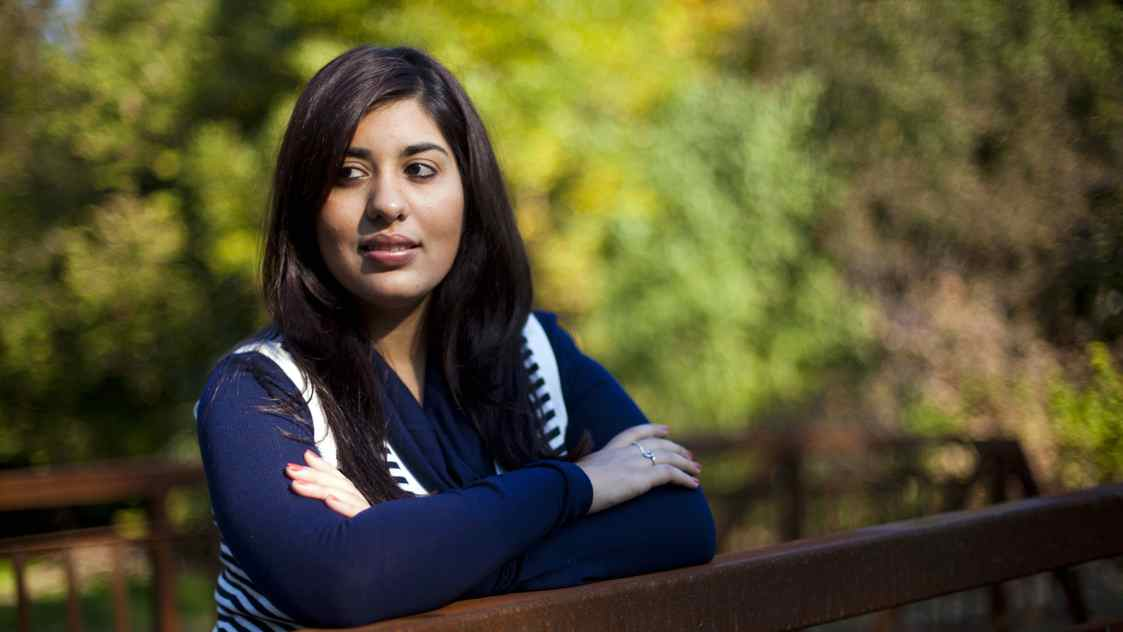 Queen's University economics major Hana Dhanani is the Canadian delegate to the G(irls)20 Summit in Paris.
