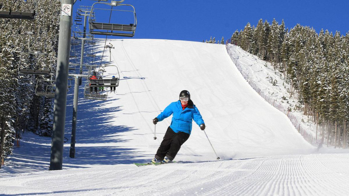Nakiska, Calgary's closest mountain, was the first ski area in Canada to open for regular season operation on Oct. 29. Currently, the resort is open just on weekends.