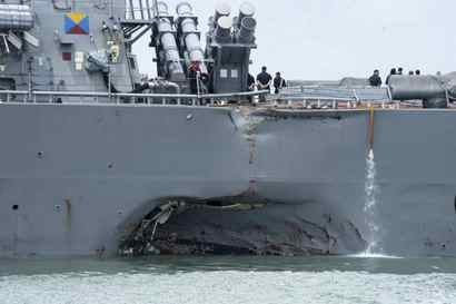 U.S. Navy photo via AP, File