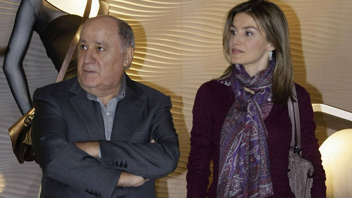 Spaniard Amancio Ortega, 75, shown with Spain's Princess Letizia, found his fortune in ready-to-wear fashion, as head of the global firm Inditex, owner of the Zara brand. Mr. Ortega, whose net worth is estimated by Forbes at $37.5-billion (U.S.), stepped down as chairman of the company last year but has since stepped up his investments in real estate. He moved up two spots on the list from last year, vaulting into the top five.