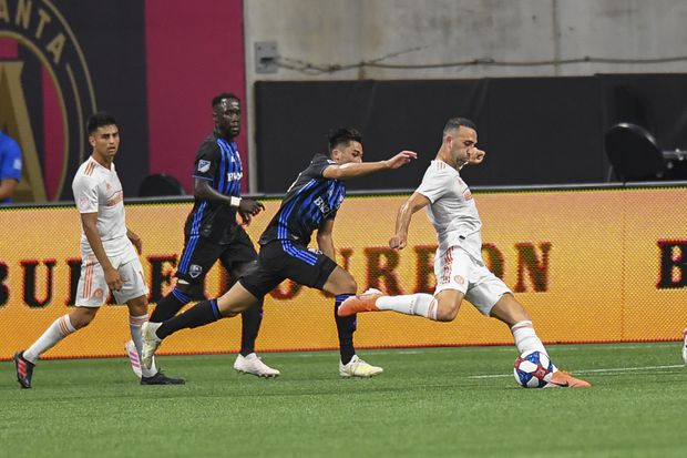 Justin Meram nets pair as Atlanta United tops Montreal Impact 2-1