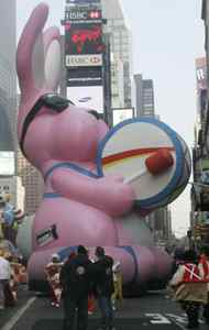 The Energizer Bunny worked its way through Times Square in 2007. Then it just kept going.