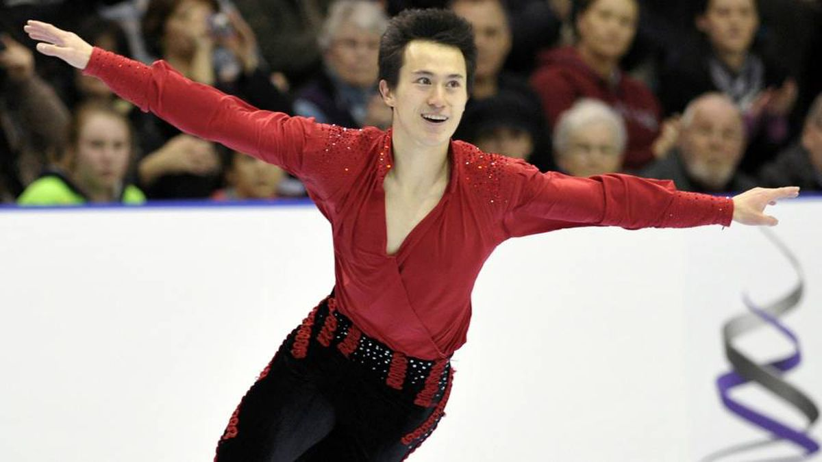 Patrick Chan skates during the Men free program at the Canadian Figure Skating Championships in Moncton, New Brunswick January 22, 2012.
