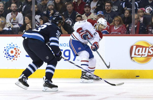 Max Pacioretty Scores Overtime Winner Lifting Montreal Canadiens Over Winnipeg Jets