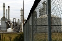 View of the Nova Chemical plant in Sarnia