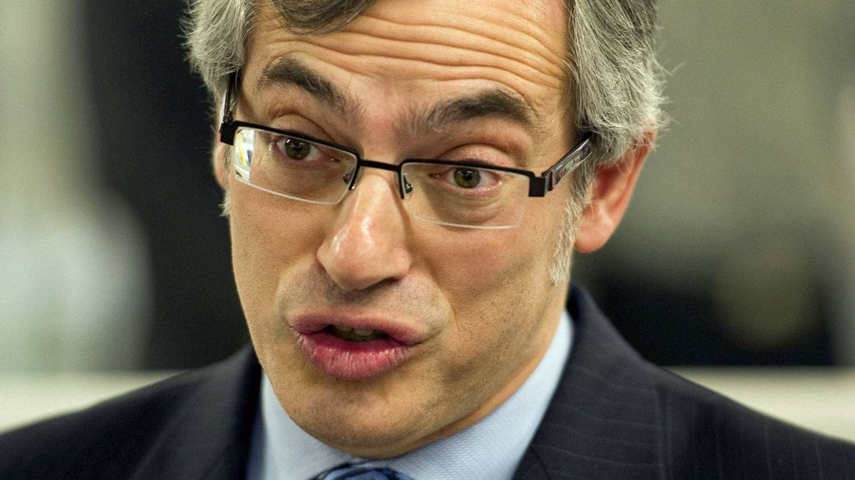 Industry Minister Tony Clement makes an aerospace announcement in Montreal on Jan. 13, 2011.