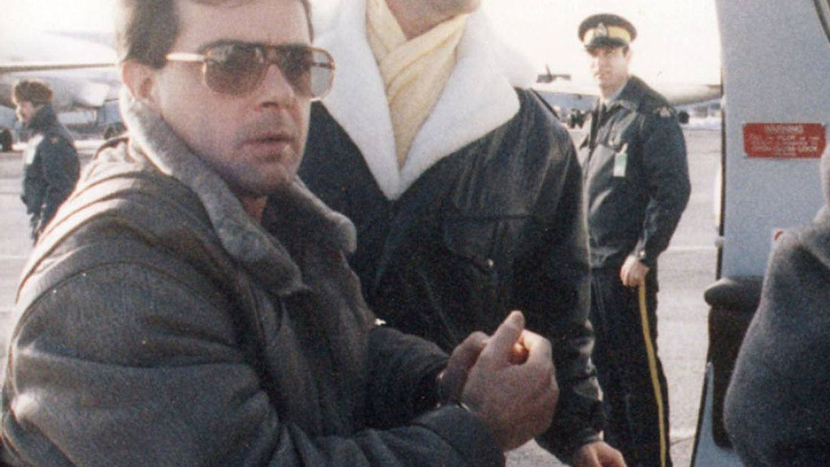 Quebec mobster Raynald Desjardins is seen on this undated file photo. Desjardins was held at Leclerc Institution in Laval, Que.