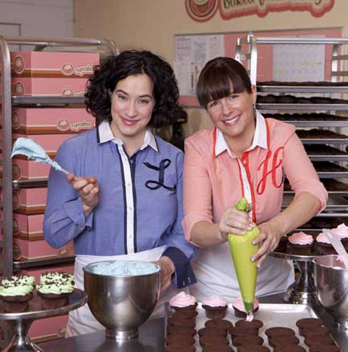 REALITY The Cupcake Girls W Network, 8 p.m. ET/PT Who knew the cupcake business was rife with drama? Currently in its third season, this freakishly popular series focuses on best friends Lori Joyce and Heather White, who run a successful cupcake business in Vancouver. As befits any successful businesswomen, both lead complicated lives beyond the icing and sprinkles. Past episodes have documented Lori's in vitro-fertilization treatment and Heather's ongoing struggle as a recovering alcoholic. In tonight's first new episode, the pair are tasked to create an elaborate cake for an event, while Heather's father Brian, the usual deliveryman, gets into hot water for accumulating multiple parking tickets. In the second show, Heather tries to make cupcakes with flavoured vodka.
