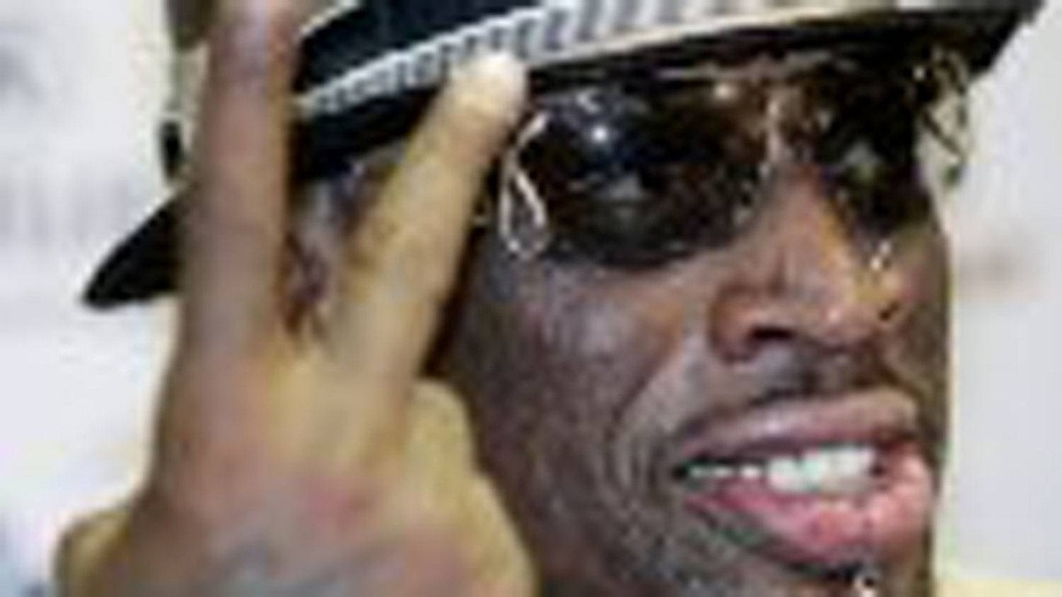Dennis Rodman was draw at the Pattison Canadian International at Woodbine Racetrack in Toronto on Thursday. AP Photo File Photo