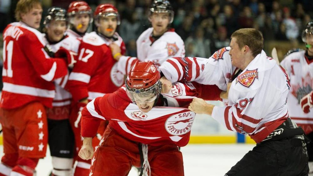 Should teenagers be fighting adults They do in the OHL The