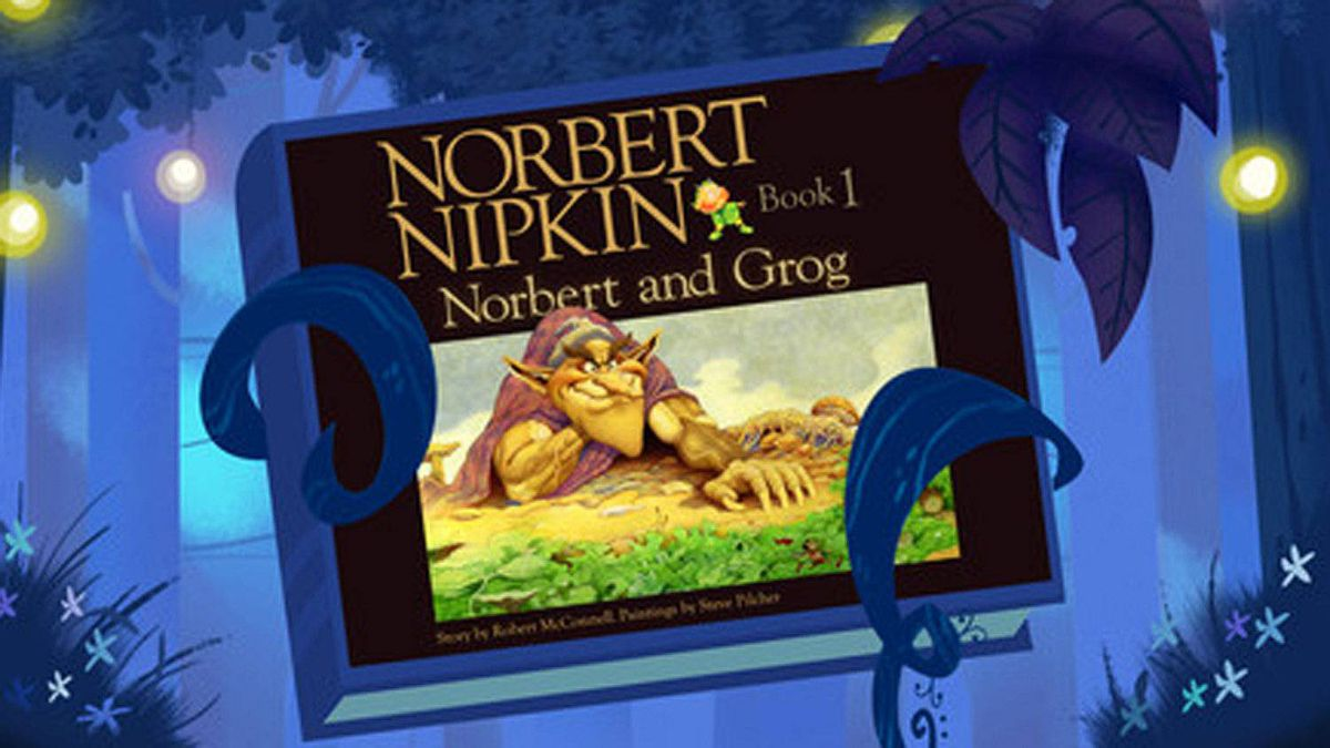 Norbert Nipkin interactive book The children's book series by Toronto writer Robert McConnell and Burlington artist Steve Pilcher (now a senior art director at Pixar) is being reimagined – and remastered, with new images – as an iPad application. The stories are about the adventures of Norbert, a nipkin, in an enchanted land. ($2.99; itunes.apple.com/ca)