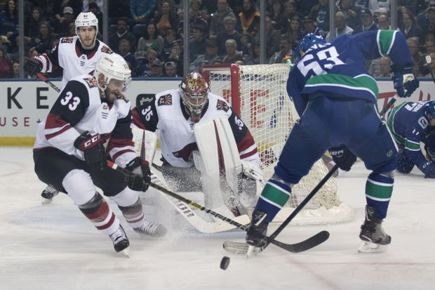 Canucks Fall To Coyotes To Close Out Preseason The Globe And Mail