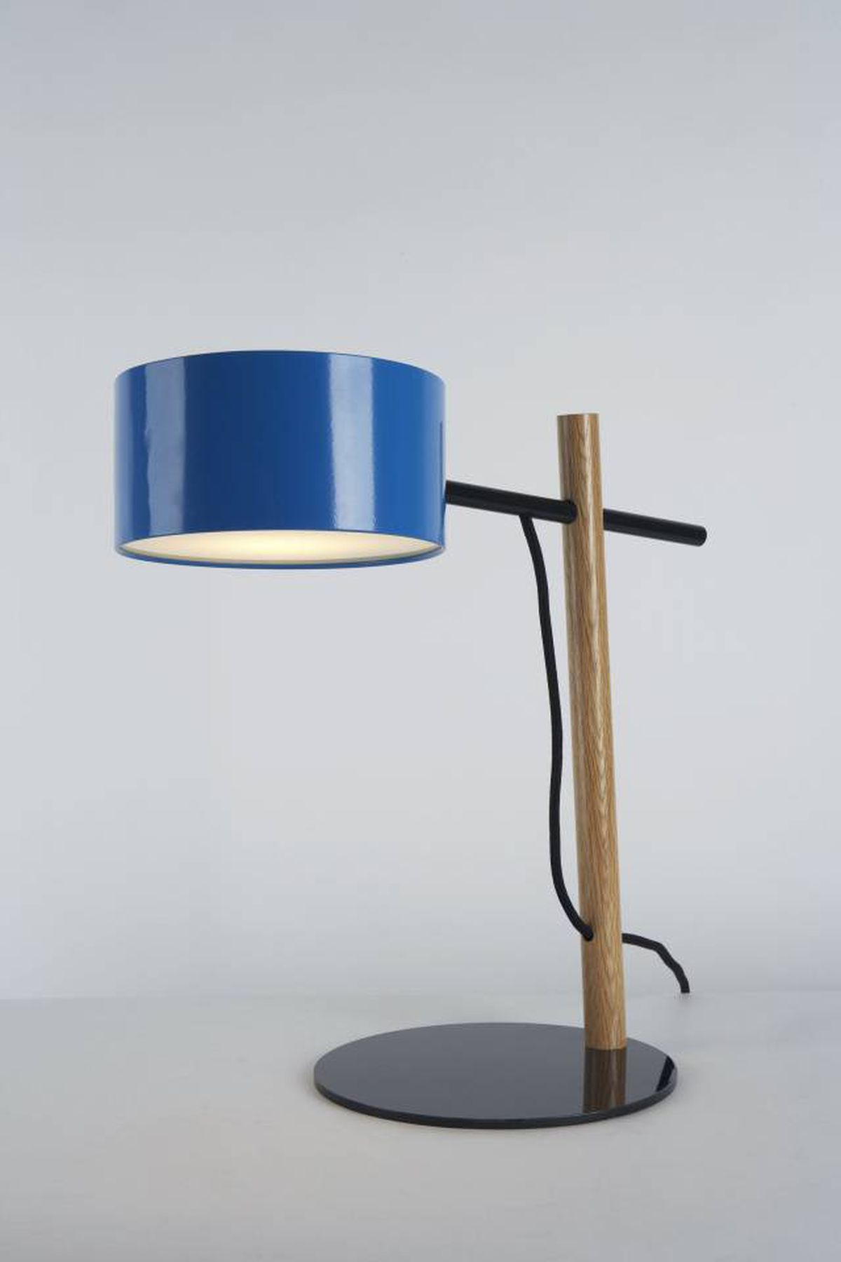 The Excel floor lamp by New York design firm Rich Brilliant Willing.