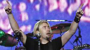 Chad Kroeger performs with Nickelback in Vancouver in June 2010.