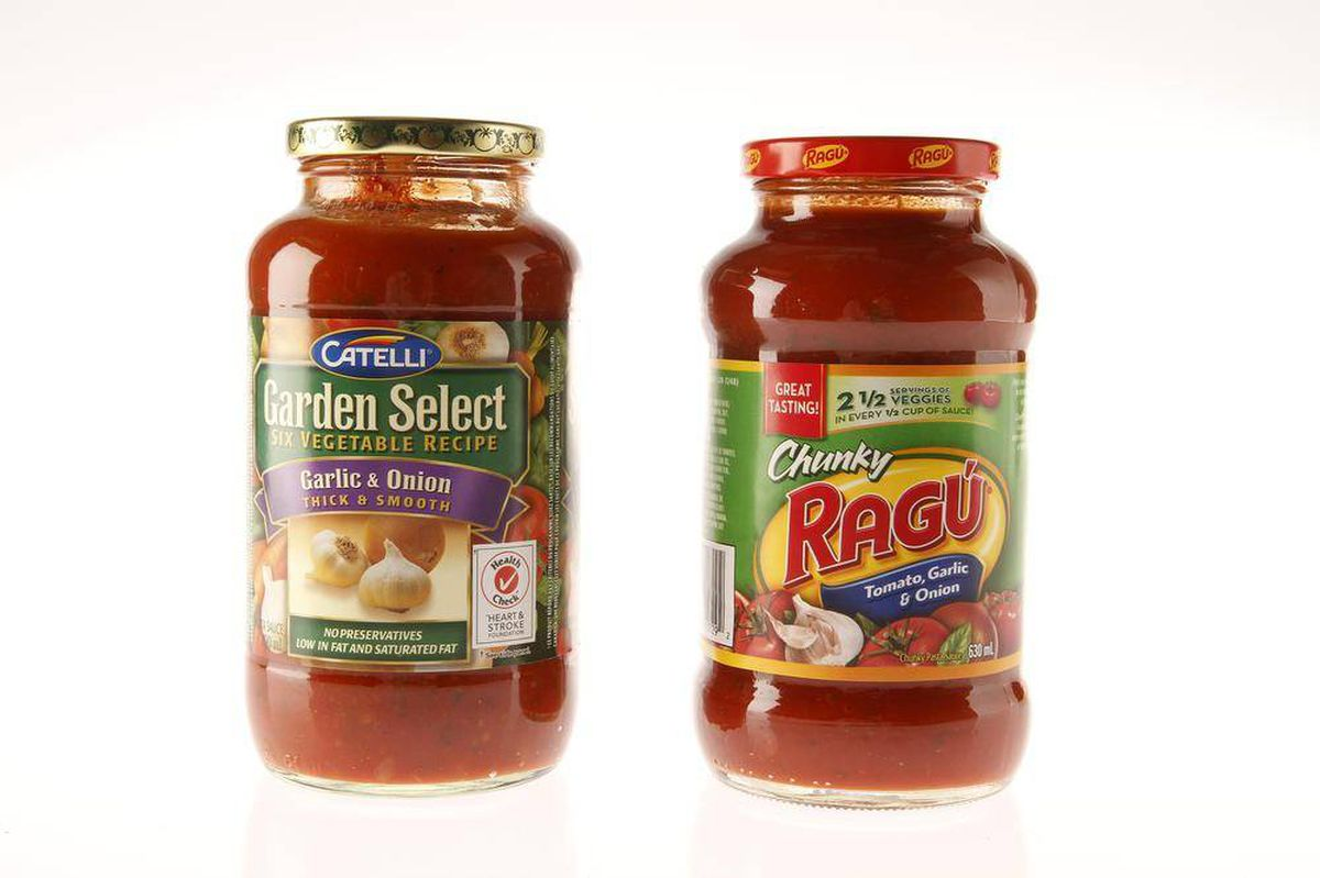 store-bought pasta sauce