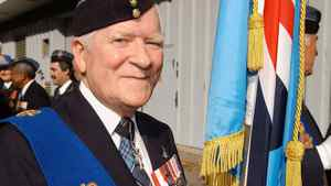 Bruce Beatty loved to wear his medals.