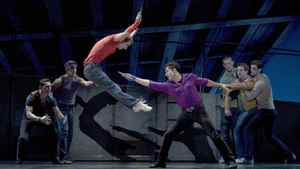 """A scene from the First National Tour of """"West Side Story"""""""