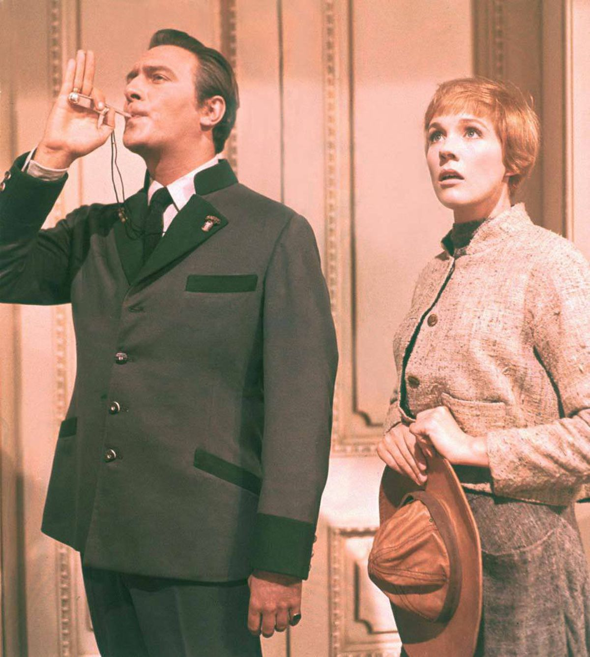 Christopher Plummer and Julie Andrews in The Sound of Music (1965).