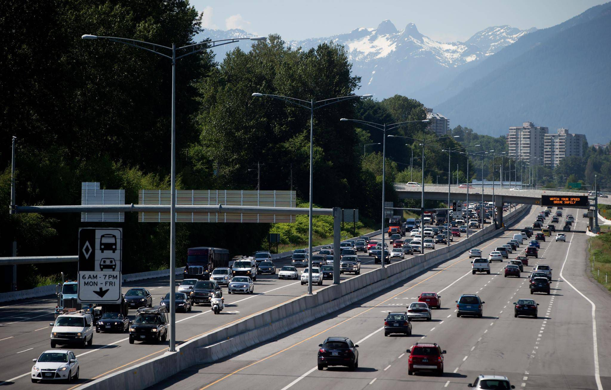 B.C.'s Highway 1 upgrade costs rise, partly because of NDP labour agreement
