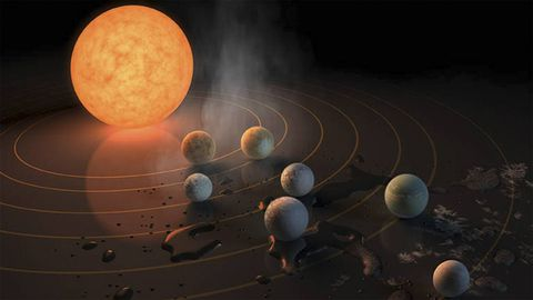 Astronomers discover musical link to survival of newly discovered solar system