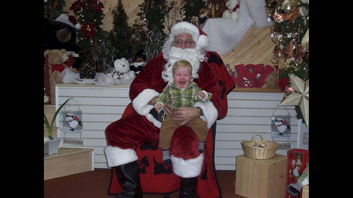 jess488 on Flickr uploaded this image of Miles and Santa to our pool
