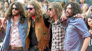 The Sheepdogs on the red carpet during the 2011 MuchMusic Video Awards in Toronto on Sunday, June 19, 2011.
