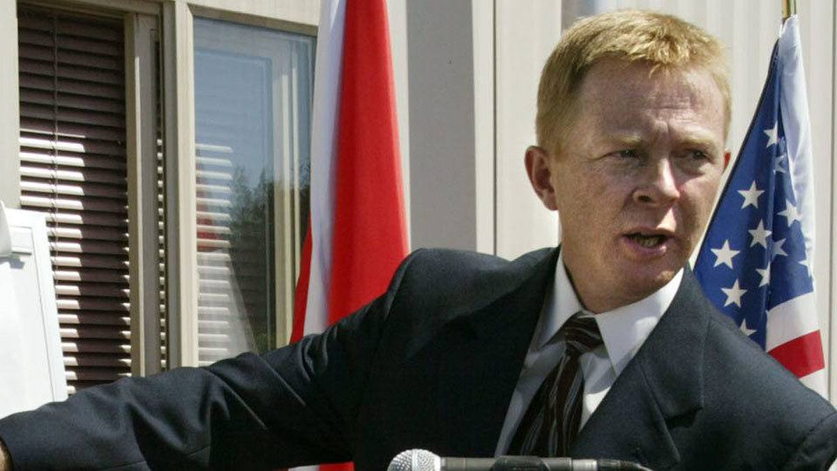 Pat Fogarty, currently Superintendant of the Organized Crime Agency of B.C. seen during a news conference July 21, 2005.