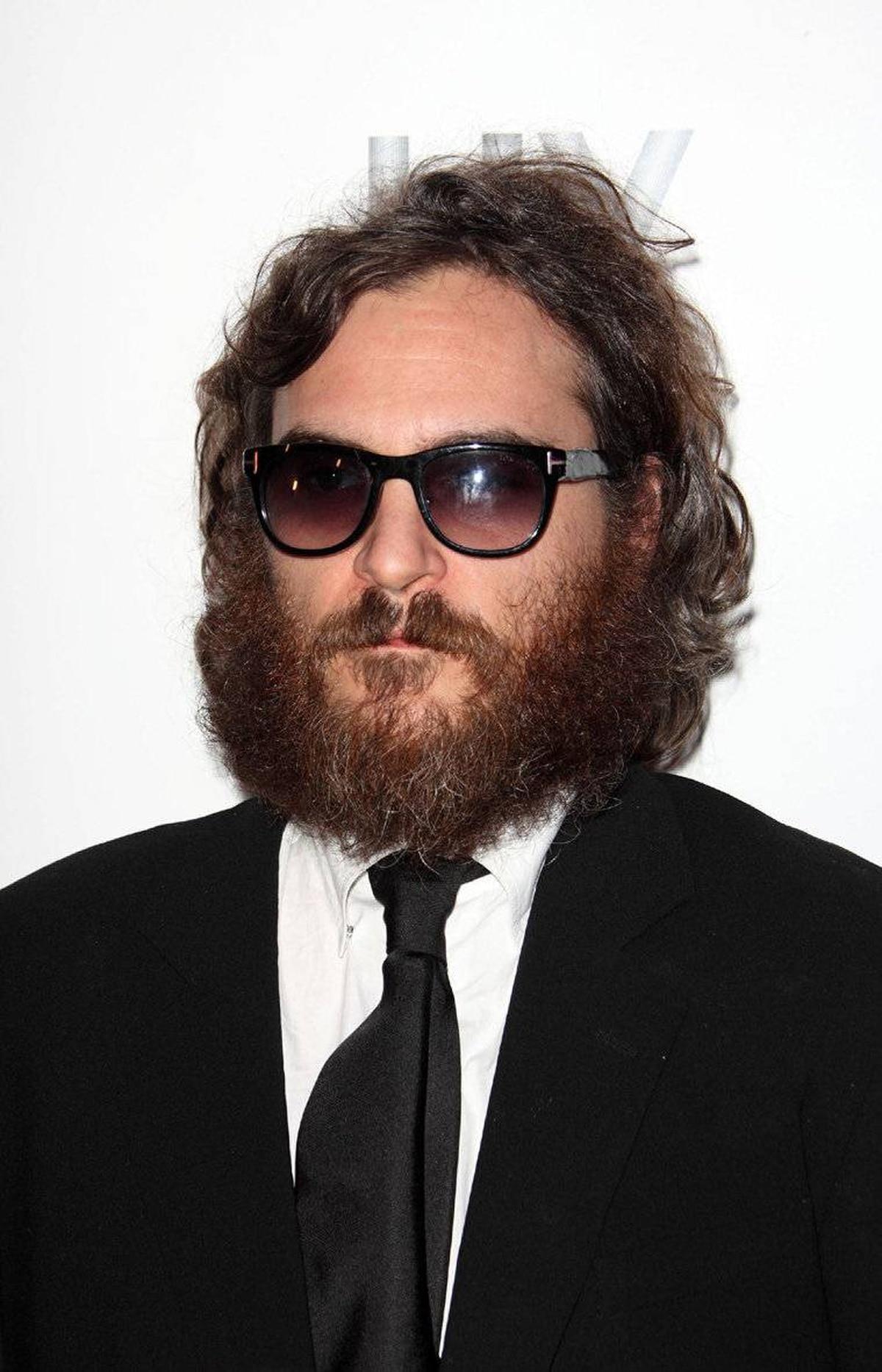 Joaquin Phoenix: Hirsute thespian