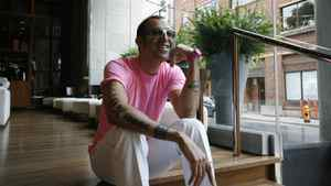 Karim Rashid, an Egyptian-Canadian industrial designer, is seen here in this 2007 file photo.