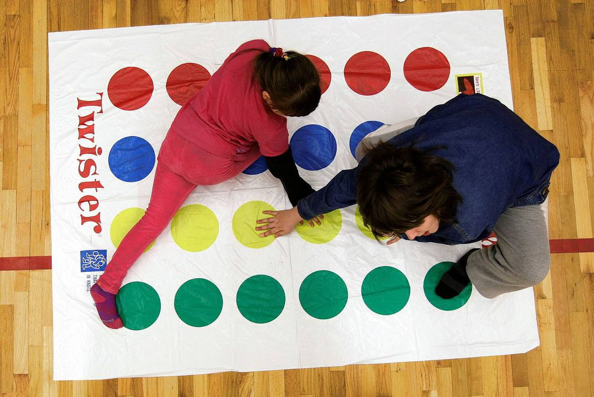 Children with FAS work on improving motor skills at Jackson Elementary in Abbotsford, BC, Jan. 19, 2010.