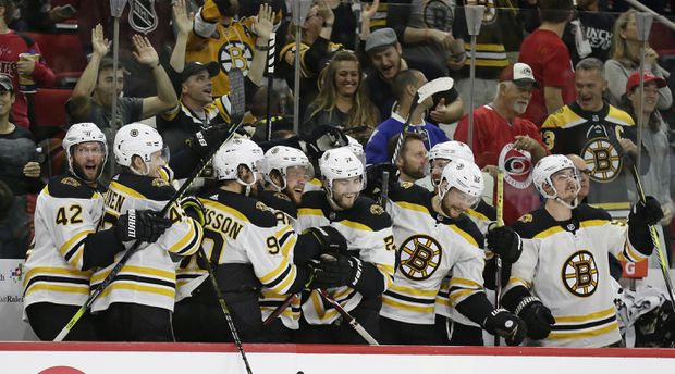 Rask blanks 'Canes as Bruins sweep their way to Stanley Cup final with 4-0 win