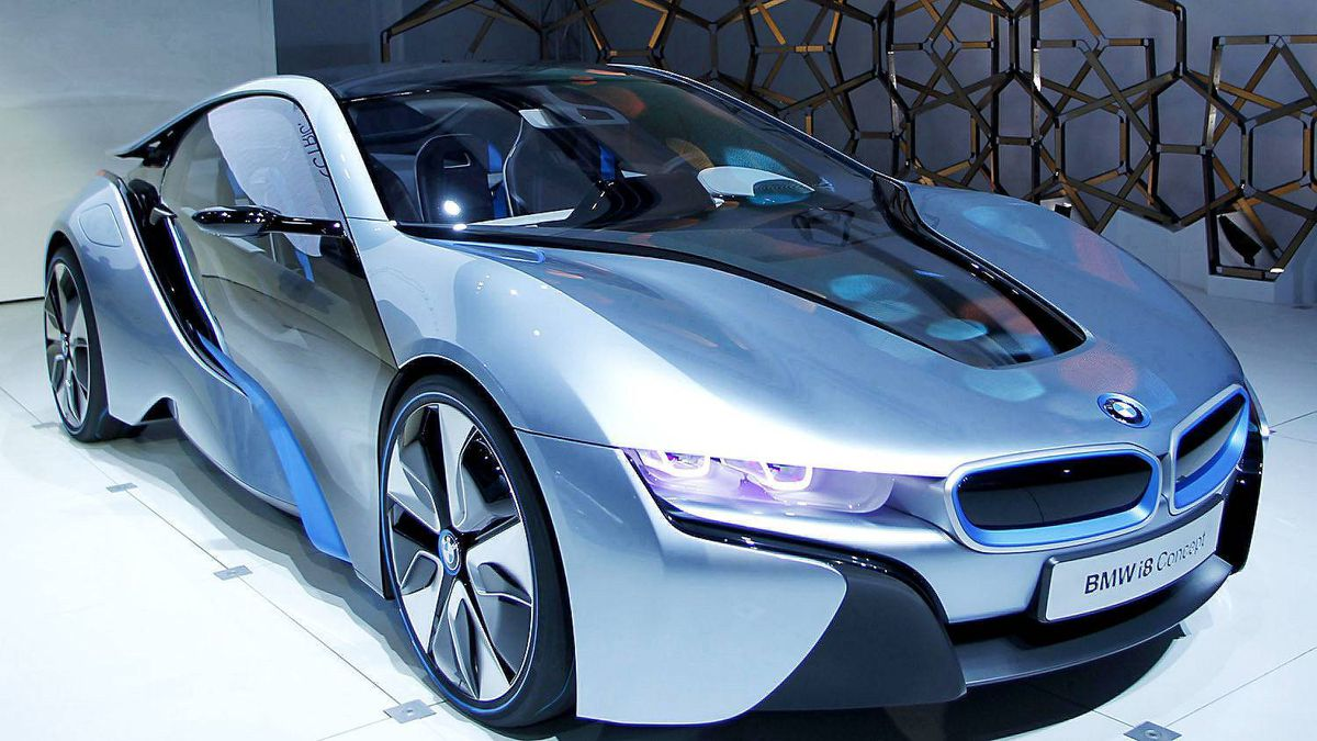 BMW i8 hybrid-electric concept vehicle