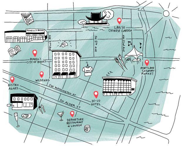 Neighbourhood Stroll: How to take in Portland's pedestrian-friendly downtown