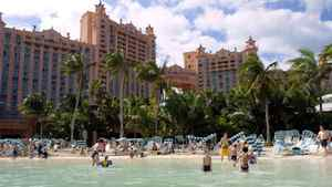 The Atlantis resort on Paradise Island in the Bahamas is one of the Caribbean's largest and best-known destinations.