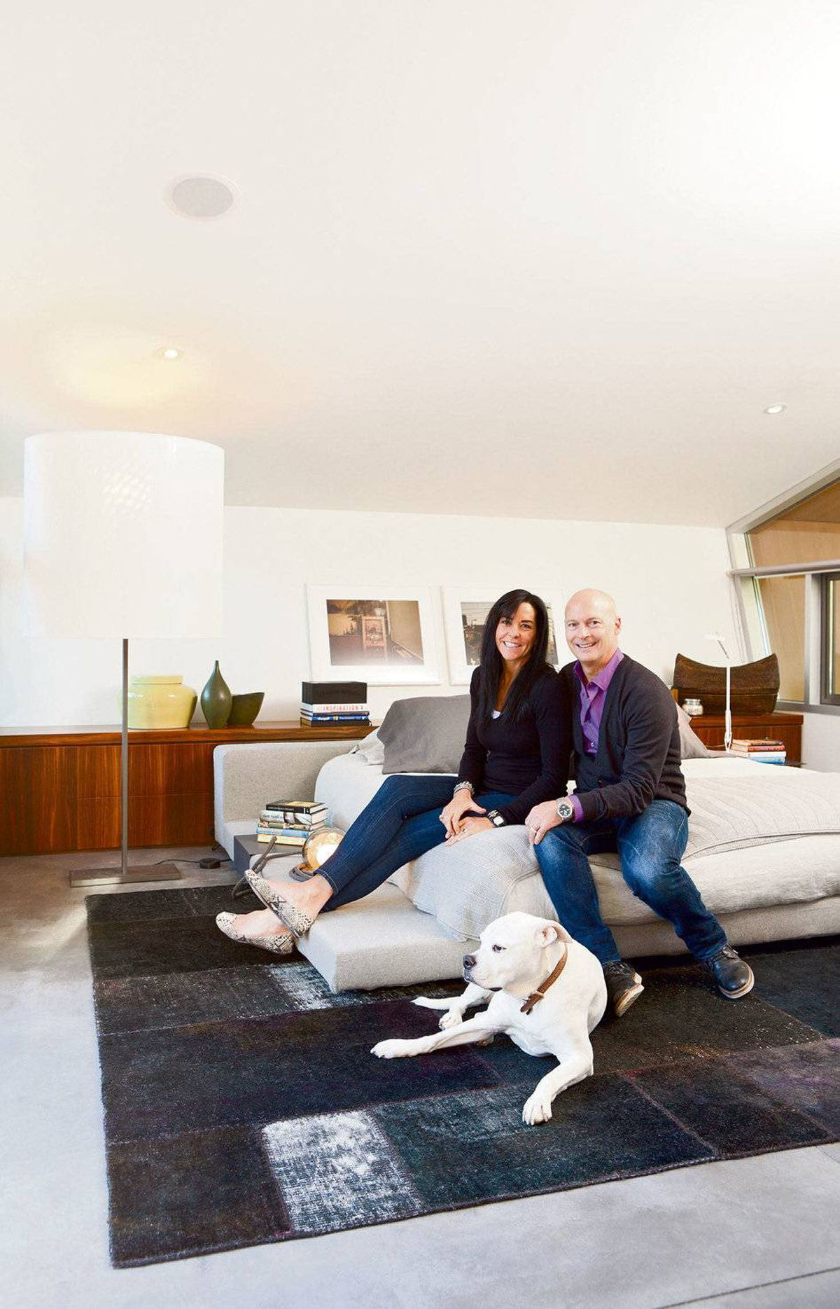 A highlight of Ross and Melissa Bonetti's custom-designed home in West Vancouver is its main-floor bedroom bridging indoors and out.
