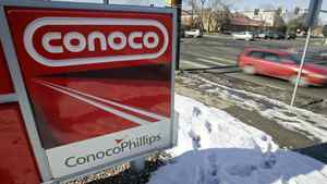 A Conoco Phillips gas station in Boulder, Colorado January 24, 2007.