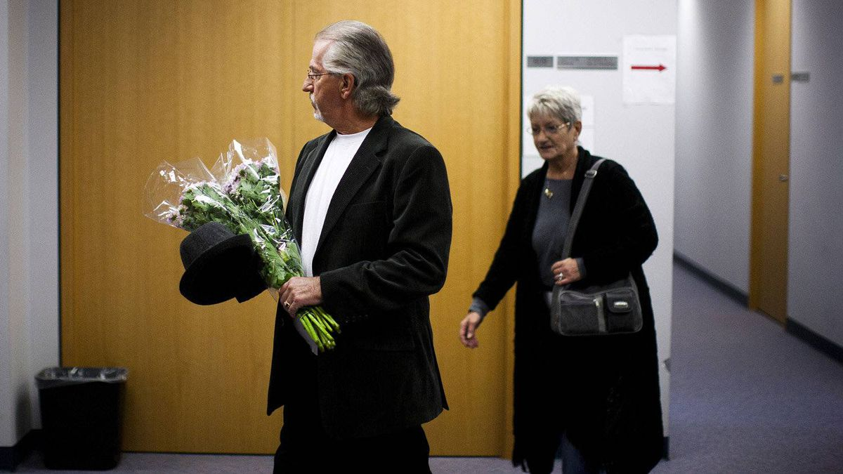 Rene Beaudoin and his wife Lilliane Beaudoin, arrive at the Missing Women inquiry in Vancouver, Oct. 24, 2011. Ms. Beaudoin's adopted sister Dianne Rock is one of Robert Pickton's victims.
