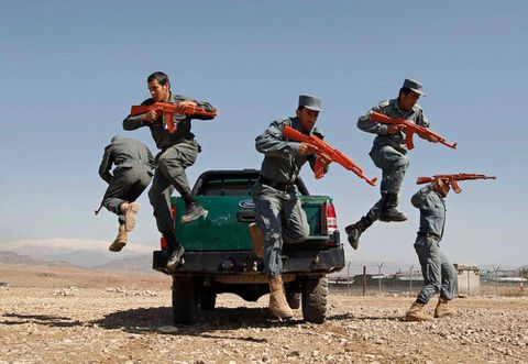 U.S. withdrawal from Afghanistan tied to performance of Afghan security forces