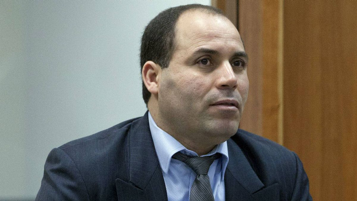 Mohamed Harkat listens to arguments at the Federal Court of Appeal in Ottawa on Feb. 21, 2012.