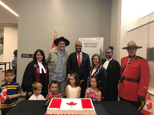 Arcade Fire front man Win Butler gets Canadian citizenship